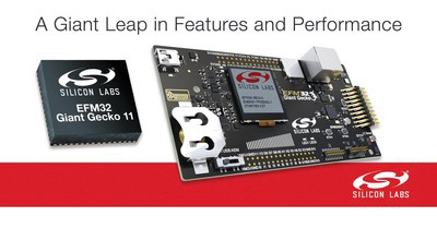 Silicon Labs new EFM32 Giant Gecko microcontrollers