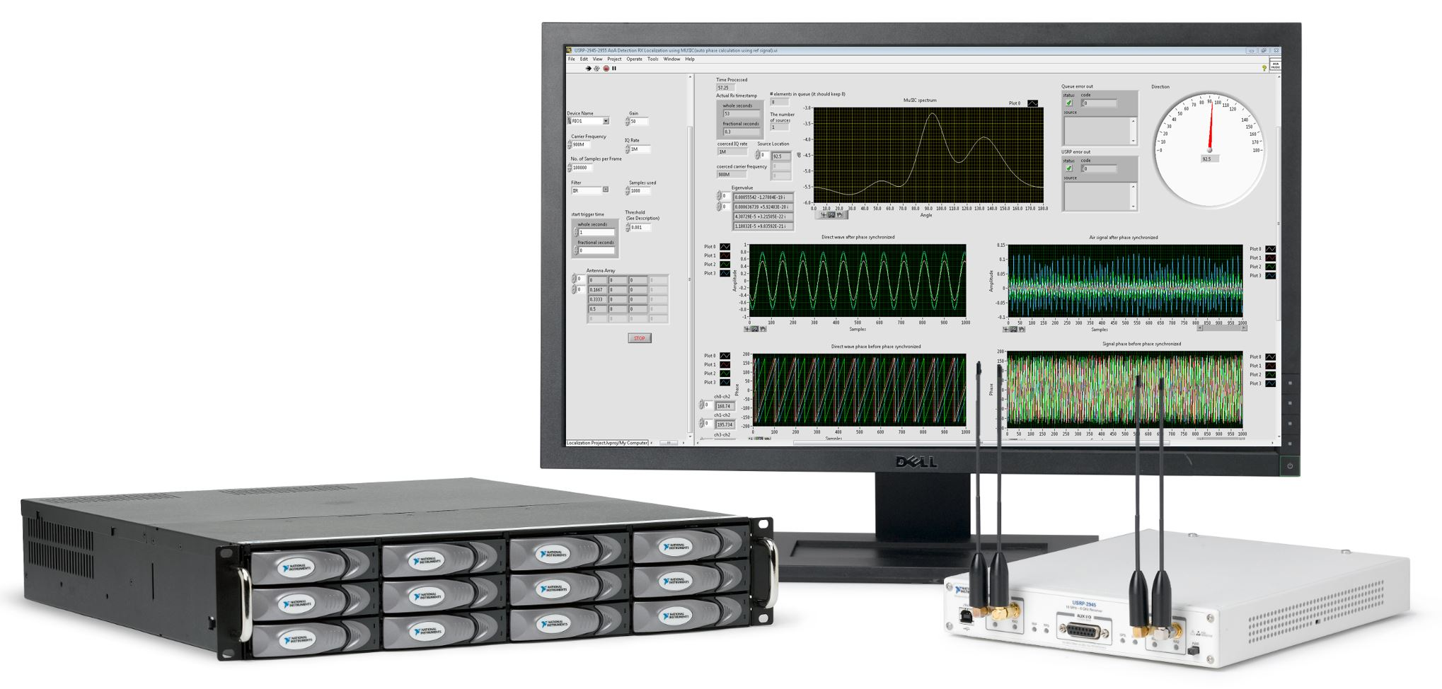 USRP 2945 and RAID Array NI Announces the Next Generation of USRP RIO Software Defined Radio Solutions for Design