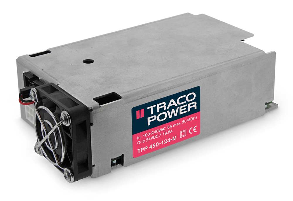 rs components traco power tpp450 m